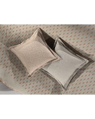 Decorative Pillow BALI CORAL-GREY 50*50 Guy Laroche