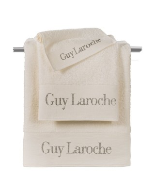 Towels (Set of 3 Pieces)   FUTURA IVORY  Guy Laroche