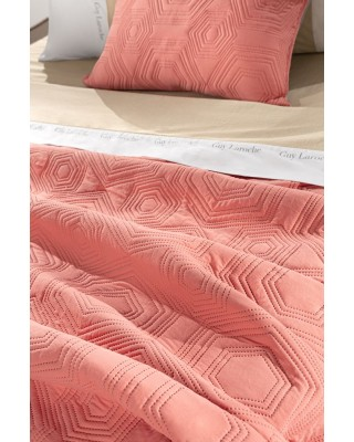 Spring/Summer Quilt LILLY CORAL 160X240 Guy Laroche