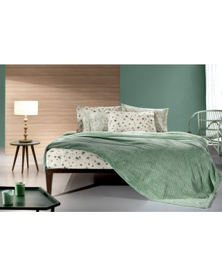 Blanket Fleece 1,60*2,20 Rombus Olive Guy Laroche
